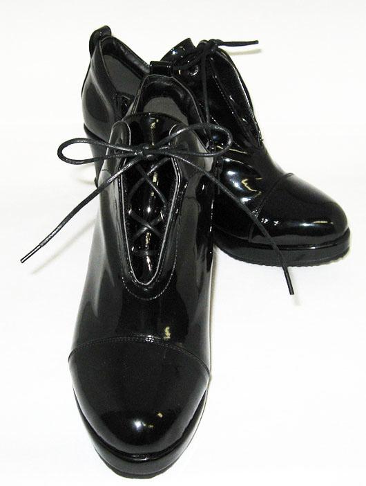美人ぐせブーツ ブラックカラー