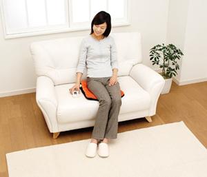 敷いて座ってお尻や腰の暖房にホットマルチヒーター
