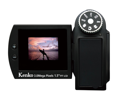 デジタルムービーカメラ ≪ケンコー VS-FUN IR≫ の画像