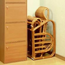 オットマンチェア 籐椅子