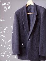 洋服ブラシの静電気除去効果