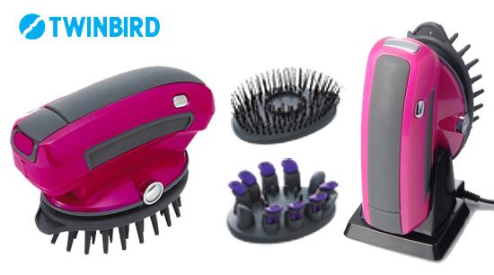 充電式の頭皮洗浄ブラシ
