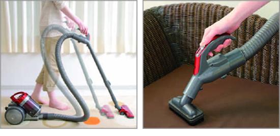 使いやすいサイクロン掃除機