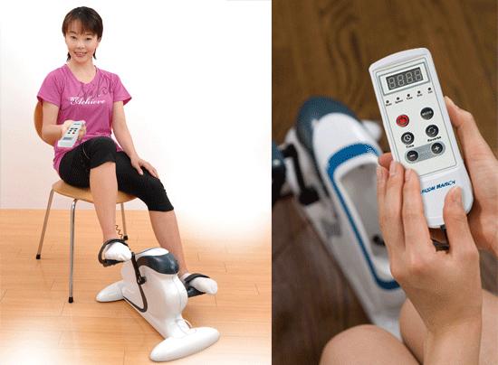 千葉真子さんもおすすめのサイクル運動器