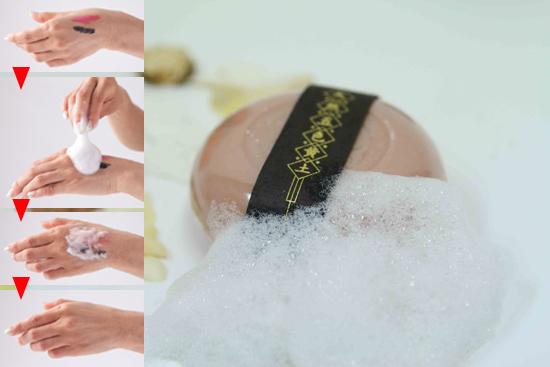 美容液のように潤う石鹸「五色黄土石鹸」