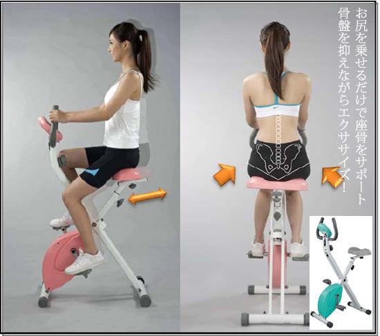 骨盤エクササイズバイク