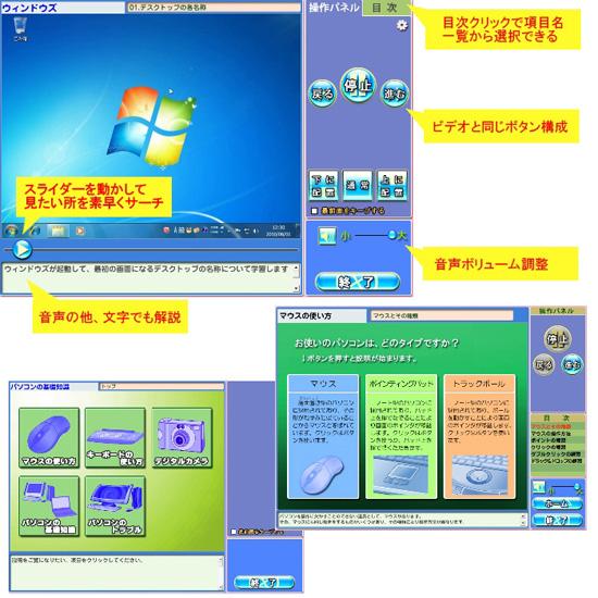 初心者向けパソコンソフト