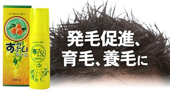 頭皮環境を整えるすっごい育毛剤