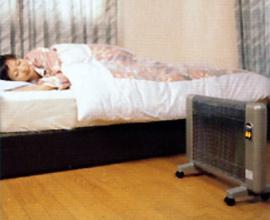 睡眠時にも快適な夢暖望