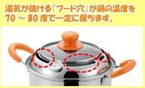 低温蒸し器