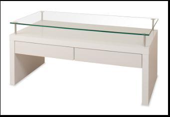 リビングテーブルホワイト