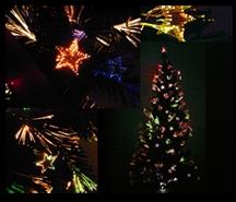 クリスマスファイバーツリー