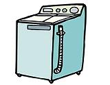 洗濯機でも洗える