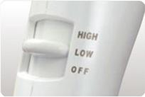 2段階風量調節スイッチ