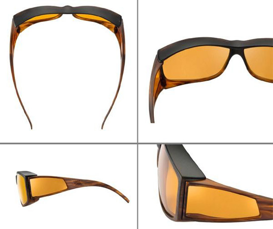 Coyk: エッシェンバッハ ウェルネス・プロテクト オーバーサングラス の通販【送料無料】