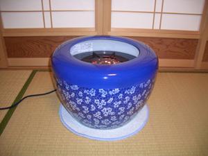 電気火鉢【ハロゲンヒーター即暖火鉢】