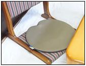座椅子の座布団代わりに