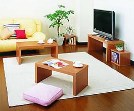 ネストテーブル リビングルーム設置例