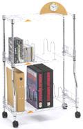 ブックシェルフ3段BE6080-3