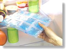 スペースアイスシート(涼感アイスシート) 冷蔵庫でヒンヤリ度アップ!