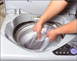 汚れても洗濯でき、乾くのも早い!