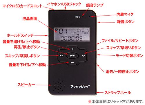 携帯 ボイスレコーダー