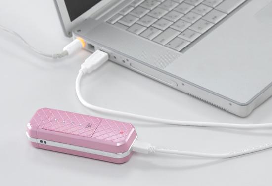 USB充電可能なハンディーミスト