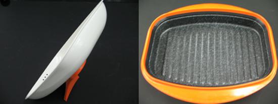 電子レンジ専用鍋型調理器 クックアート