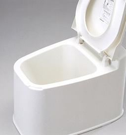 段差のない和式トイレに置くだけ