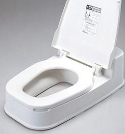 段差のある和式トイレに置くだけ