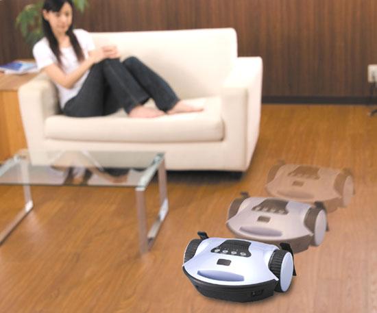 ロボット掃除機「ロボクリン」