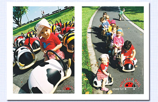 【WHEELY BUG】乗用玩具ウィリーバグは、安全性や乗り心地もバツグン!