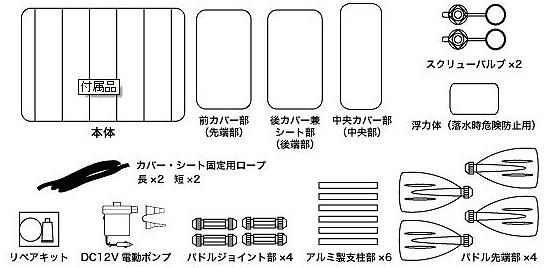 K-10 セット内容