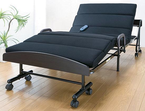 モコモコ電動折りたたみベッド