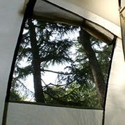 蚊帳付き窓