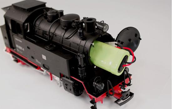 庭園鉄道のバッテリー交換方法
