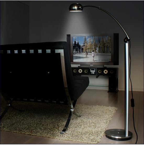おしゃれなライトの設置例