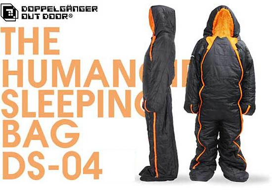 人型寝袋ヒューマノイドスリーピングバッグ