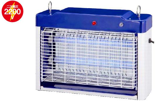 高圧感電殺虫機、蛍光灯型