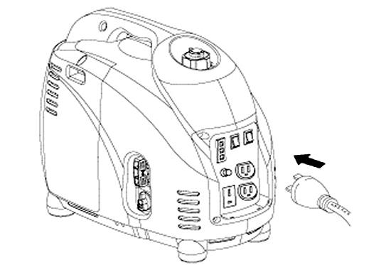 小型発電機 Elick [エリック] DY1500LBI