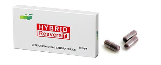 ハイブリッドレスベラTのパッケージ写真