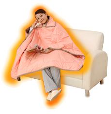 毛布よりも軽くて温かい
