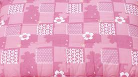 桜柄ピンク