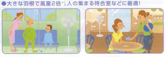 トヨトミ扇風機