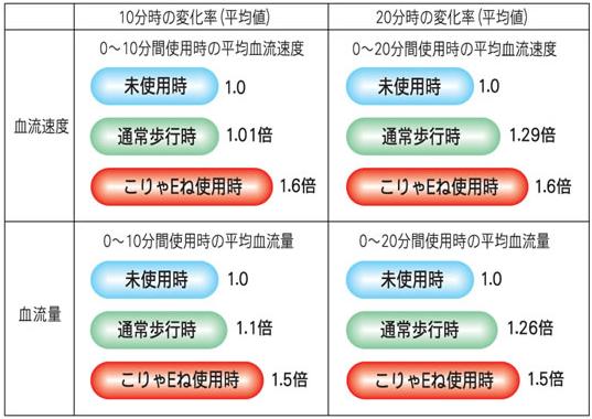 血流変化測定試験