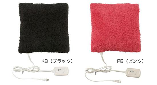 ホットクッション【コイズミ ほっとクッション 角 KHK-2591】の説明画像