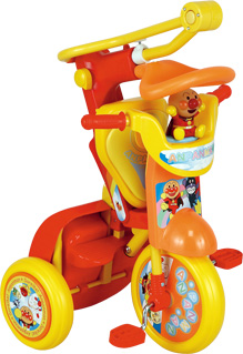 【折りたたみ三輪車 それいけ!アンパンマンDSII】イメージ画像