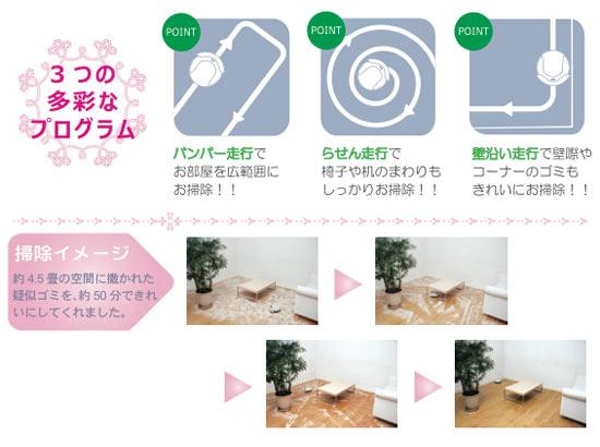ロボットクリーナー ハローキティ【AIM-ROB02】