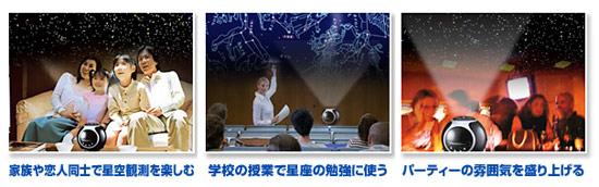 家庭用プラネタリウム [アストロシアター NA-300]NASHICA ASTRO THEATER 本格プラネタリューム