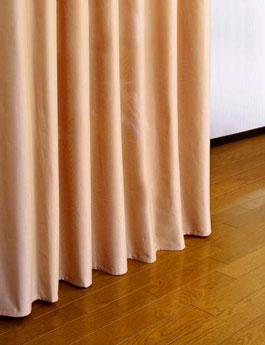 つっぱり式目隠しカーテン下部